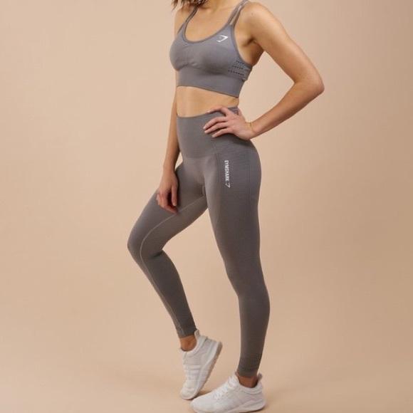 Gymshark Original Seamless Leggings (Grey)
